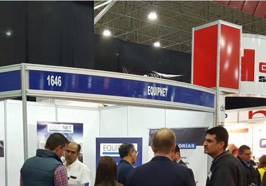 Exponiendo en ExpoManufactura con el equipo de latinoamérica