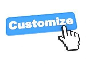 food customization